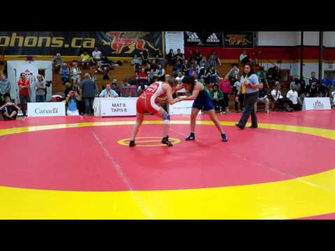 2015 Canada Cup: 53 kg Jillian Gallays (CAN) vs. Giulia De Oliveira (BRA)