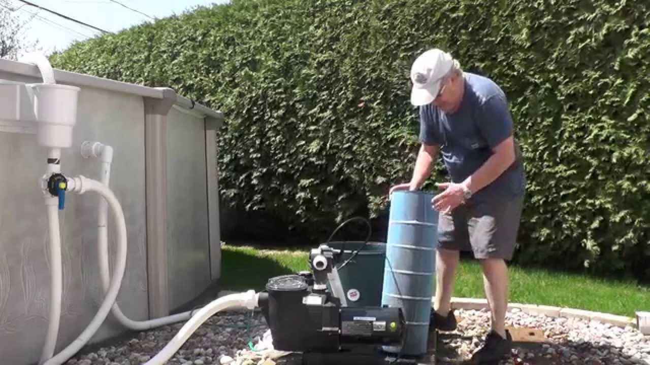 Merveilleux Nettoyage De Filtre De Piscine à Cartouche   YouTube