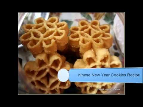 Chinese New Year Cookies Recipes