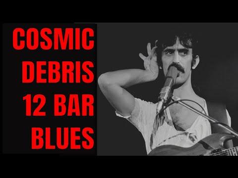 Cosmic Zappa Style 12 Bar Blues in C [76 BPM]