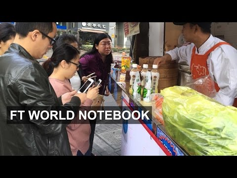 Chinese shoppers opt for mobile payment I FT World Notebook