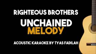 Unchained Melody - Righteous Brothers (Acoustic Guitar Karaoke with Lyrics)