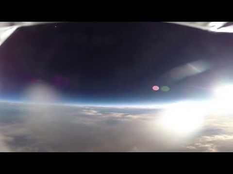 Near-Space Sunset Video #1: GoPro Hero 3+ Weather Balloon Launch