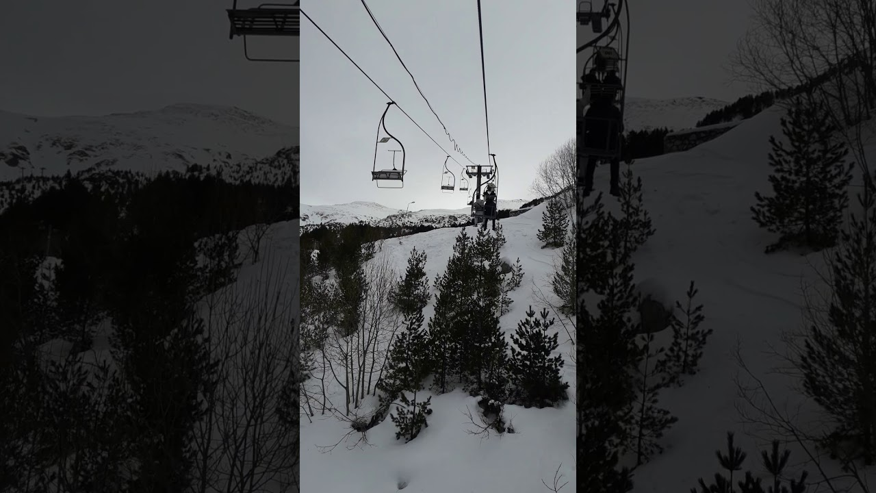 #Brezovice #snow #cable car - YouTube