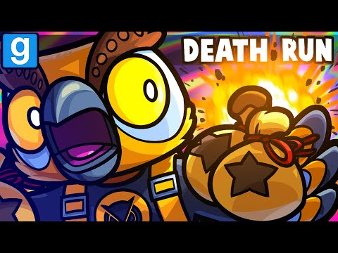 Gmod Death Run Funny Moments - A Brutal Animal Crossing Map!