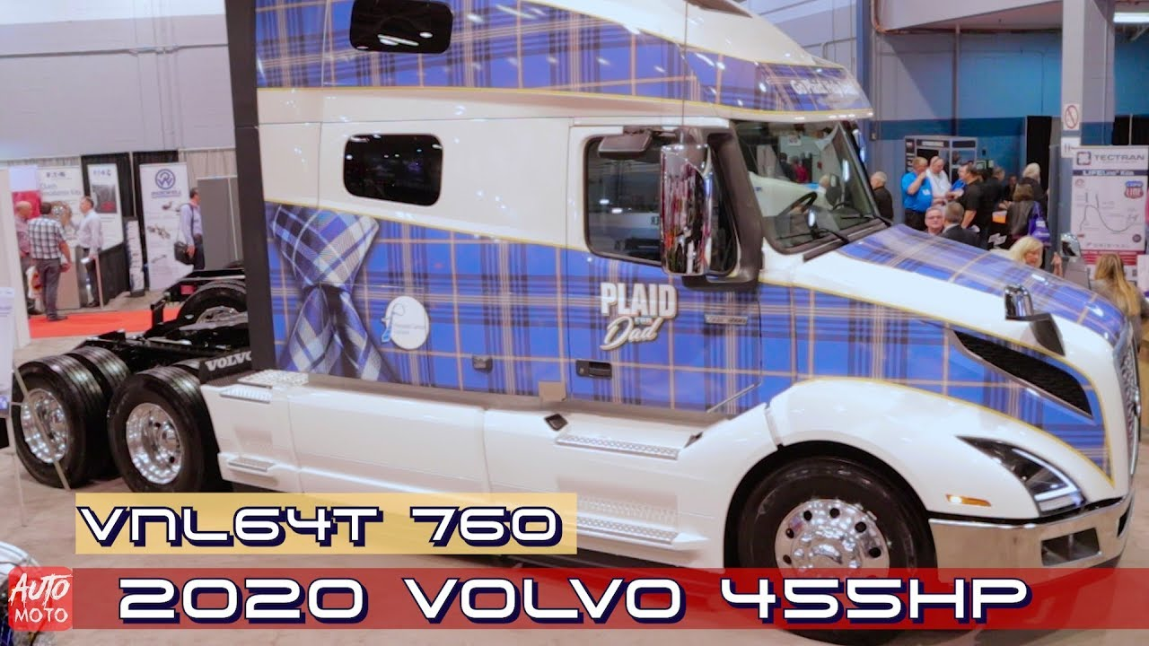 Louisville Truck Show 2020.2020 Volvo Vnl64t 760 455hp Exterior And Interior 2019 Atlantic Truck Show