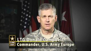 U.S. Army Europe Commanding General Addresses Senior Leaders on SHARP