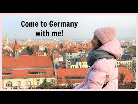 Vlog in Russian 20. Come to Bamberg with me! - Germany - travel video - Anastasia Semina
