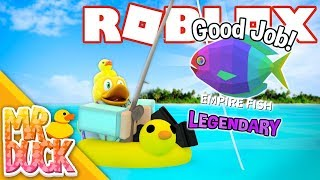 Roblox Fishing Empire Simulator - CATCHING A LEGENDARY EMPIRE FISH!