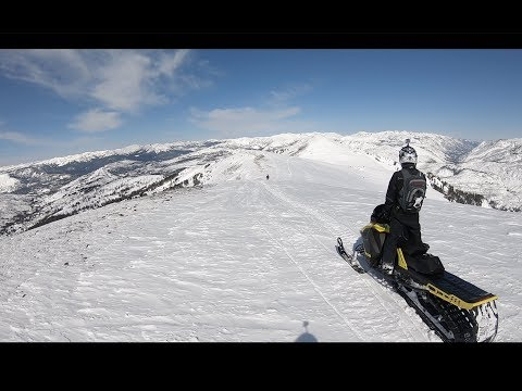 Cooke City, MT Backcountry Snowmobiling March 2018
