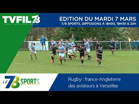 Le 7/8 Sports – Emission du mardi 7 avril 2015