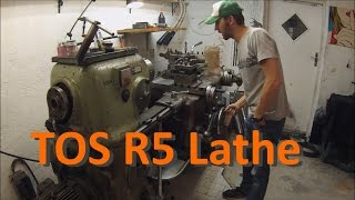 A tour of my TOS R5 turret lathe