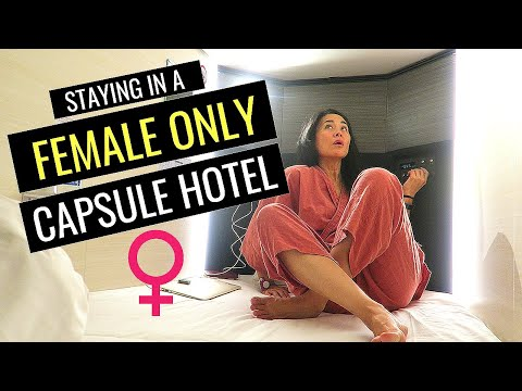 BEST Tokyo Capsule Hotel Experience- FEMALE ONLY Tour #2