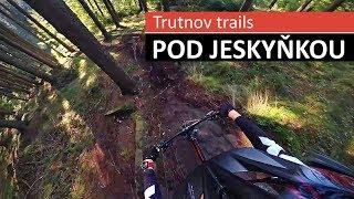 Trutnov Trails - černý trail Pod jeskyňkou (celý + komentář)