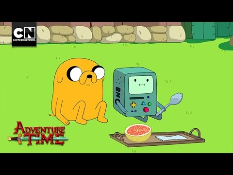 Football Vs. BMO I Adventure Time I Cartoon Network