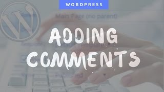 How To Add Comment Section Your Website In WordPress