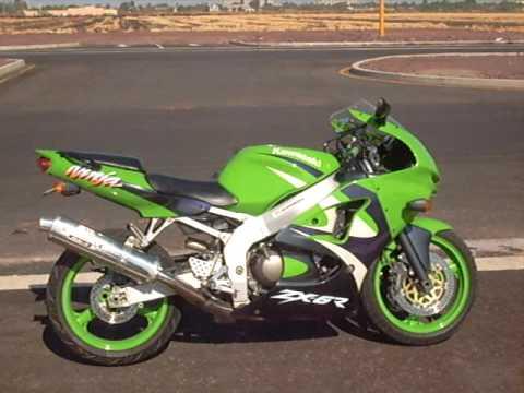 Kawasaki zx6r ninja 1999 - YouTube