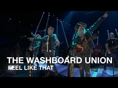 The Washboard Union Performs | Feel Like That | 2018 CCMA Awards