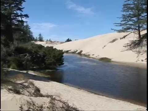 Oregon Video Map #9A (S.W.) Crater Lake-Coos Bay