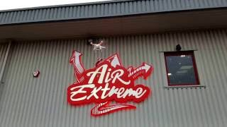 Buddy the Elf on the Shelf flies into Air Extreme