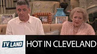 Hot in Cleveland Outtake: Betty White and Guest Star Craig Ferguson