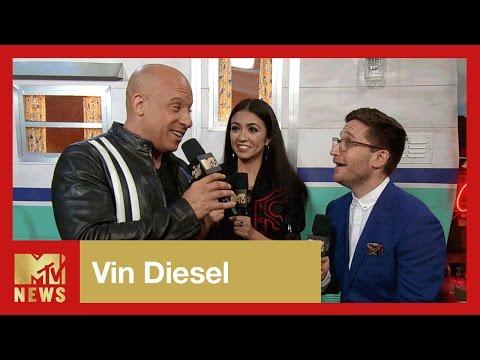 Vin Diesel on Accepting the Generation Award   2017 MTV Movie Awards   MTV News