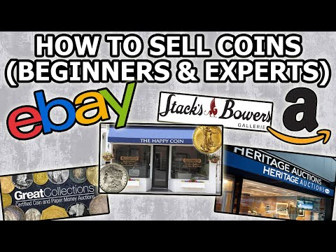 How To Sell Coins - Advanced Tips From Well Known Coin Dealer: From Coin Shops To Auction Companies