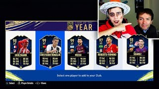 MIO PADRE SCEGLIE I TOTY IN FIFA 19!!