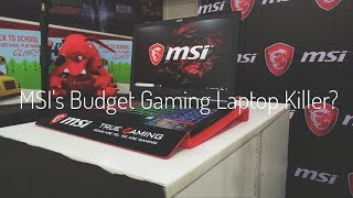 MSI GS63 7RD Stealth - Budget Gaming Laptop KILLER?? #MSIGaming #MSIIndia