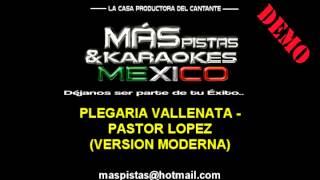 Plegaria Vallenata (pista karaoke) Orq. San Vicente Pastor Lopez
