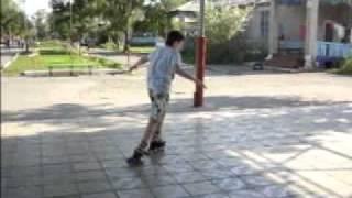 Видео урок:Как котатся на роликах