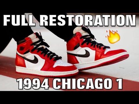 1994 CHICAGO 1 JORDAN FULL RESTORATION!