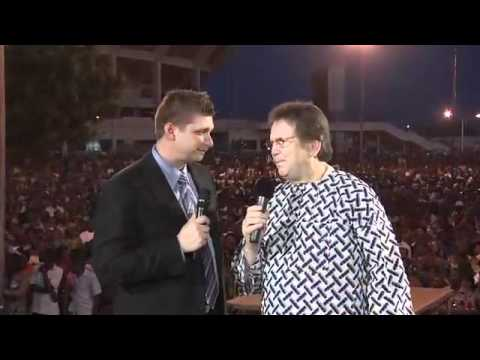 Daniel Kolenda and Reinhard Bonnke in Lome, Togo