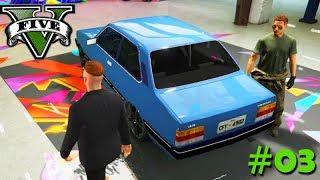 GTA V: BRASIL ROLEPLAY - GANHEI um CARRO NOVO!!! #03 (GTA RP)