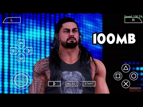 [100MB] Download WWE 2K20 Game For Android -- 4k Graphics Game -- WWE 2K20 MOD -- Only 1 Part -- - 동영상