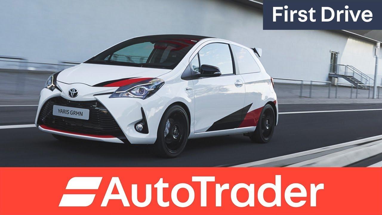 2018 Toyota Yaris GRMN first drive - Dauer: 4 Minuten, 19 Sekunden