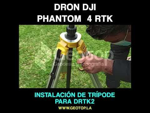 3 Instalacion de Tripode para DRTK2