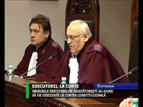 Abuzurile executorilor judecătorești au ajuns să fie discutate la Curtea Constituțională