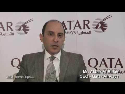 Qatar Airways CEO Interview Nov 2010 - HD