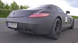 Mercedes-Benz SLS AMG w/ Akrapovic Exhaust! Lovely Sounds!