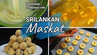 Eid Al Adha 2021 Sweets/ Srilankan Maskat / Home made condensed milk /Nanakatha /Rulan Lattu /Tamil screenshot 4
