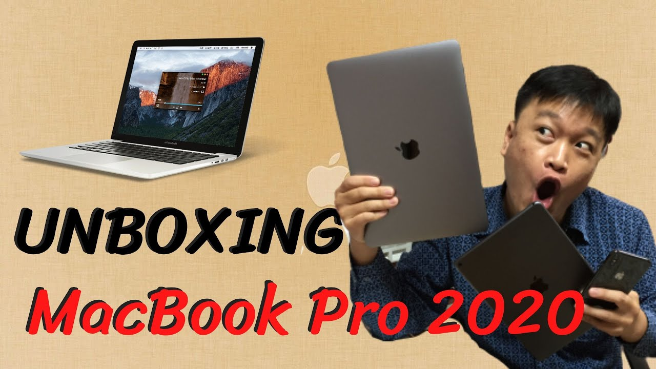 UNBOXING MacBook Pro 2020 กลายเป็นสาวก APPLE เต็มตัว