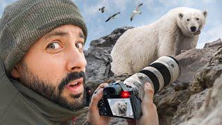 J'ai approché un ours polaire (Mike Horn n'était pas loin donc c'était ok)