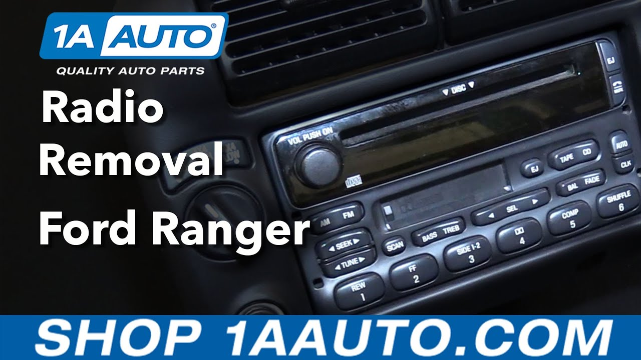 How To Replace 98 12 Ford Ranger Radio Youtube Wiring Adapter