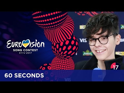60 Seconds with Kristian Kostov from Bulgaria