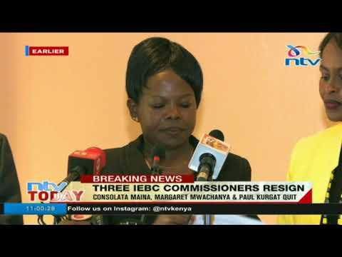 Three IEBC commissioners resign - Full statement