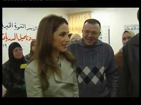 Lyse Doucet - BBC Profile - King & Queen of Jordan, 2004