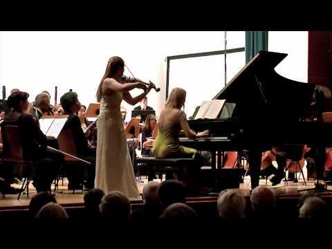 Encore: Mozart Violin Piano Sonata K378  Finale Solenne Paidassi Valentina Lisitsa