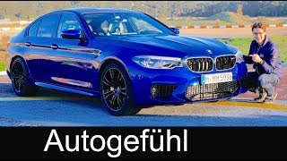 BMW M5 - the German muscle car? FULL REVIEW F90 all-new 5-Series M 2018 acceleration & sound