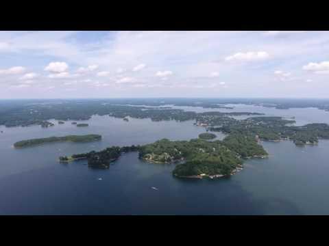 Aerial Shots of Lake Norman!